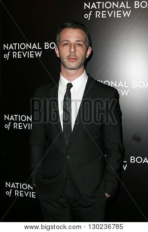 NEW YORK-JAN 5: Actor Jeremy Strong attends the 2015 National Board of Review Gala at Cipriani 42nd Street on January 5, 2016 in New York City.