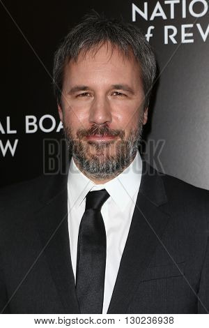 NEW YORK-JAN 5: Director Denis Villeneuve attends the 2015 National Board of Review Gala at Cipriani 42nd Street on January 5, 2016 in New York City.