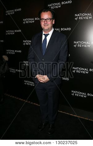 NEW YORK-JAN 5: Editor Joe Walker attends the 2015 National Board of Review Gala at Cipriani 42nd Street on January 5, 2016 in New York City.