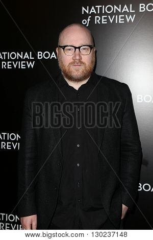 NEW YORK-JAN 5: Composer Johann Johannsson attends the 2015 National Board of Review Gala at Cipriani 42nd Street on January 5, 2016 in New York City.