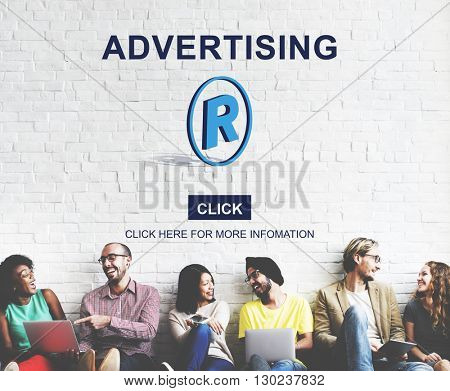 Advertising Campaign Commercial Communication Concept