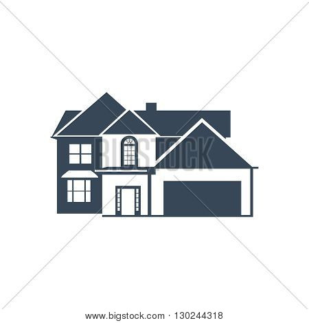 House Icon Vector illustration isolated on white
