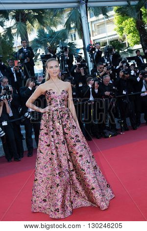 Natasha Poly attends the 'Julieta' premiere at the 69th Festival de Cannes. May 17, 2016  Cannes, France