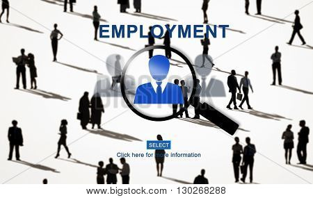 Employment Employed Hiring Career Occupation Concept