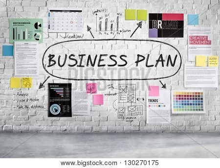 Business Plan Planning Strategy Vision Direction Concept