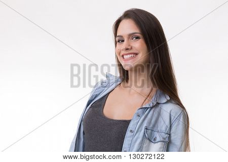 Portrait of a latina young woman