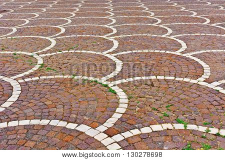 The Decorated Pavement in the Sicilian city