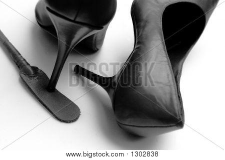 Kinky Black Heels