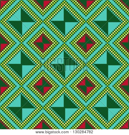 Ukrainian Ethnic Multicolour Broidery