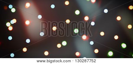 stars in space colorful background over dark