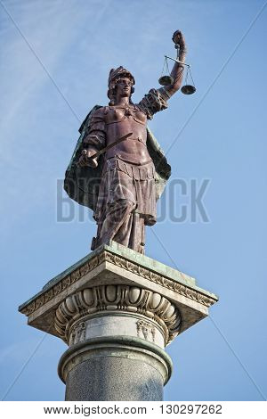 Florence Justice Statue