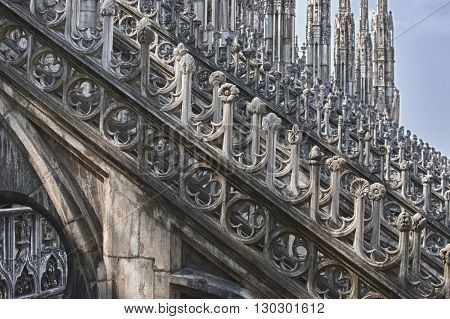 Milan Dome Cathedral View