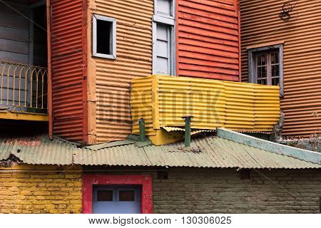 La Boca Painted House In Buenos Aires