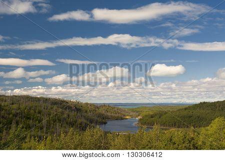 Kenai Peninsula view landscape panorama alaska homer