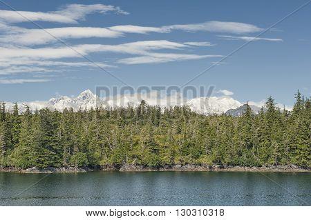 Alaska Prince William Sound Glacier View