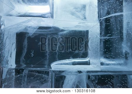 Ice Blocks Wall