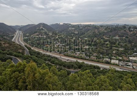 Los Angeles Congested Highway