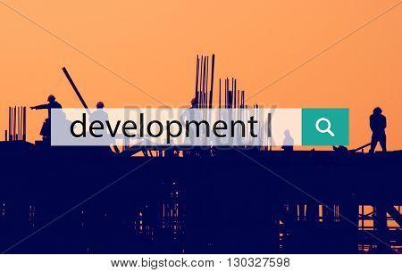 Development Growth Improvement Management Concept