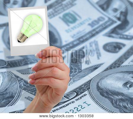 Financial Idea Concept