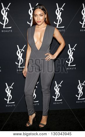 Korrina Rico at Zoe Kravitz celebrates her new role with Yves Saint Laurent Beauty held at the Gibson Brands Sunset in West Hollywood, USA on May 18, 2016.