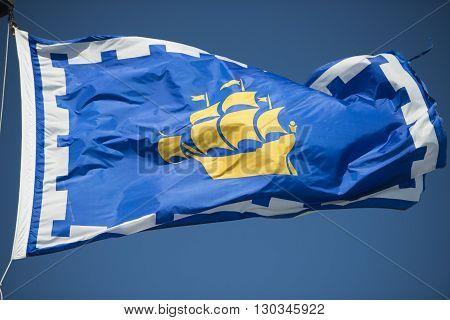 Flag Of Quebec City