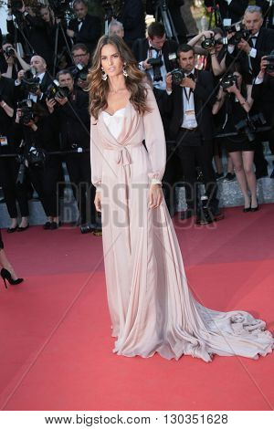 Izabel Goulart attends a screening of 'Julieta' at the annual 69th Cannes Film Festival at Palais des Festivals on May 17, 2016 in Cannes, France.