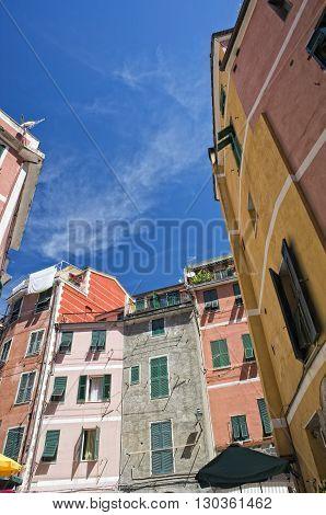 Vernazza Cinque Terre Houses