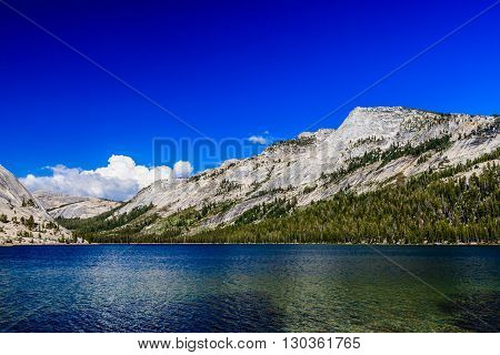 Tenaya Lake, Yosemite National Park, Sierra Nevada, Usa