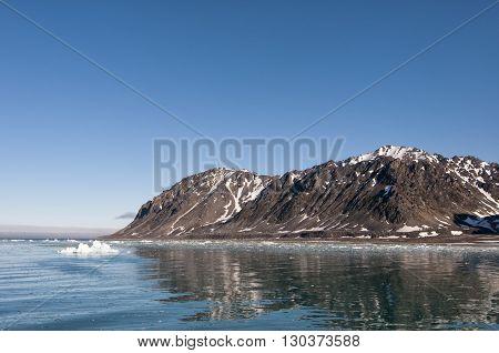 Svalbard Spitzbergen Glacier Landscape