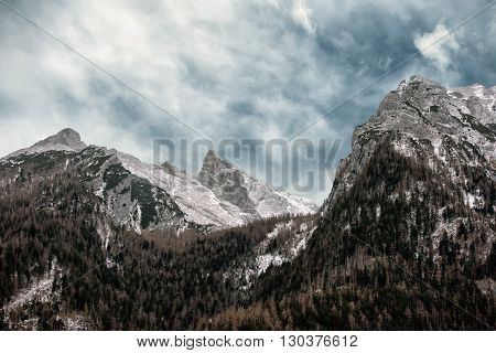 Berchtesgaden Land In Winter Time