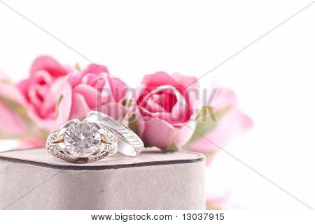 Engagement Rings Background