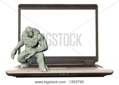 Laptop-troll