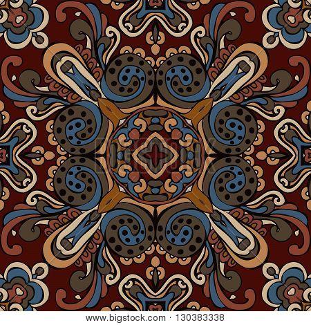 tribal ethnic bohemia fashion abstract indian pattern ornamental motif