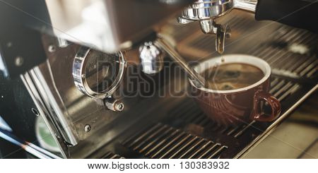 Coffee Shop Cafeteria Restaurant Service Concept