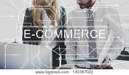 E-commerce Online Shopping Sale Concept