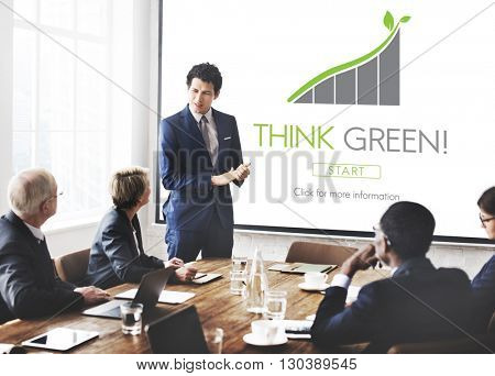 Think Green Conservation Ecology Environment Concept