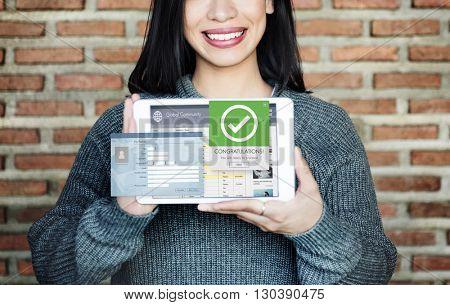 Register Enter Membership Sign-in Socialize Concept