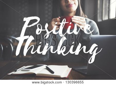 Positive Thinking Attitude Choice Inspire Mindset Concept