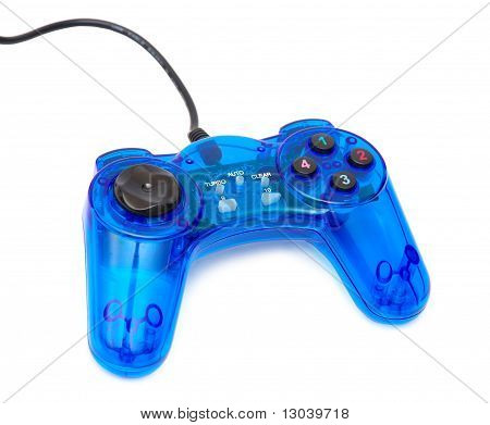 The Blue Glass Game Controler