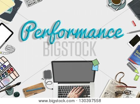 Performance Skills Talent Business Concept