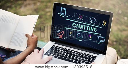 Chatting Communication Connecting Conversation Concept