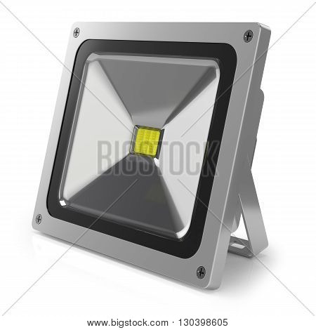 Led Floodlight 3D