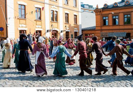 The Medieval Market In Turku