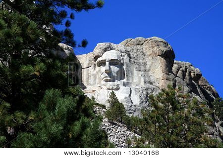 Mt. Rushmore - Lincoln's Face