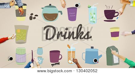 Drinks Alcohol Beverage Hydrate Juice Liquid Concept