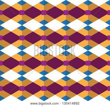 Seamless geometric pattern; geometric vector designed Endless geometric pattern.
