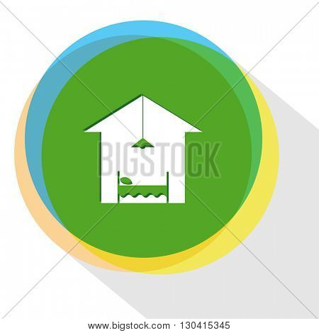 hotel. Internet template. Vector icon.