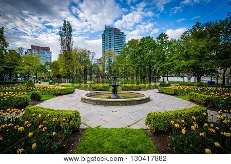 Gardens At Saint James Park, In Toronto, Ontario.