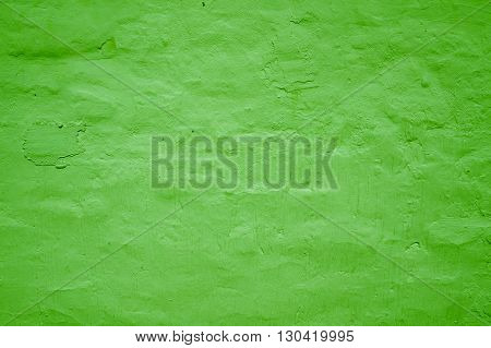 Uneven Background texture Light green grungy wall
