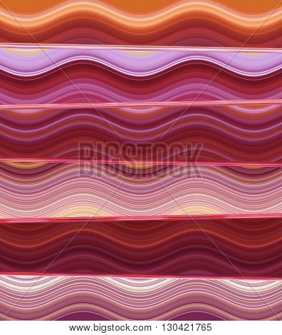 Pattern wave diagonal pink magenta red orange computer graphic design for copy double to print the product Textile fabric wrapping paper pencils Curtains sheets bedspread shirt or background